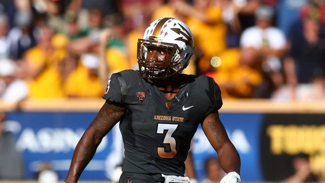 Arizona State defensive back Damarious Randall is considered a slot corner with return ability.