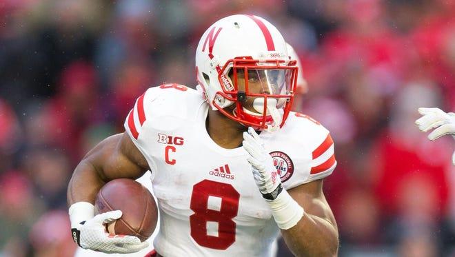 Nebraska running back Ameer Abdullah could replace Reggie Bush for the Detroit Lions.