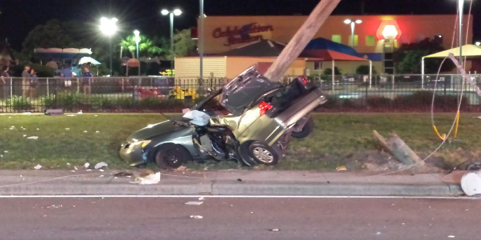 Fatal accident in Clearwater after car hits utility pole