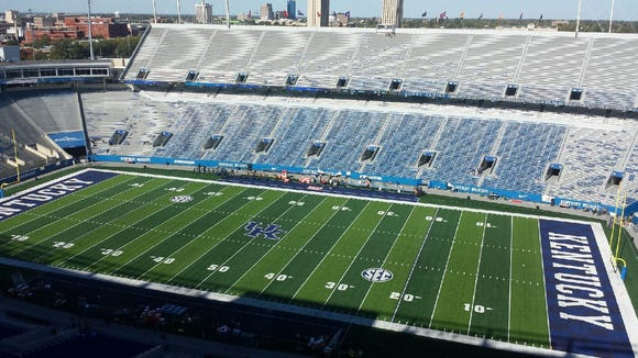 Auburn will look for its first SEC win of the season tonight against Kentucky at Commonwealth Stadium.