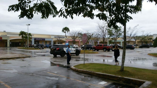 A bomb threat was received for Agana Shopping Center around 1:45 p.m. on Sunday, Jan. 31.