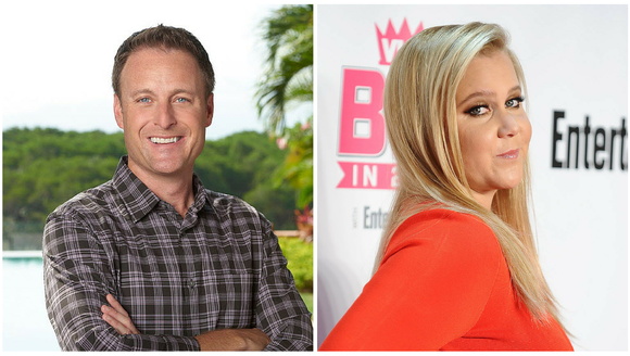 Chris Harrison is officially in Amy Schumer's crosshairs.