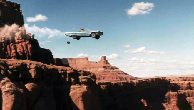 "30 movies made in Arizona. | The final scene from the 1991 film ""Thelma & Louise."""