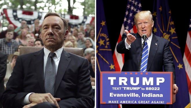 Underwood vs. Trump.