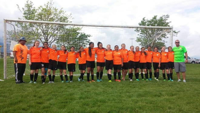 FC Mesquite team CRUSH placed second at the Utah Summer Games.