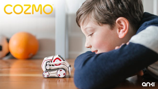 Cozmo is a $179 artificially intelligent robot that can recognize faces and react to human gestures.