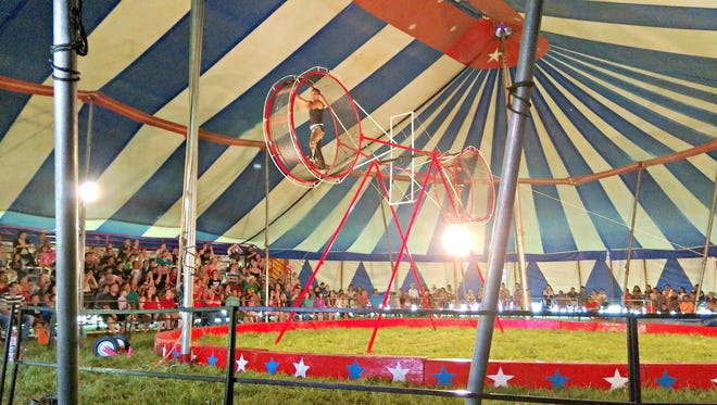 The Culpepper & Merriweather Circus is coming to Lake Winneconne Park Sunday.