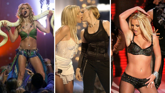Brit through the years.