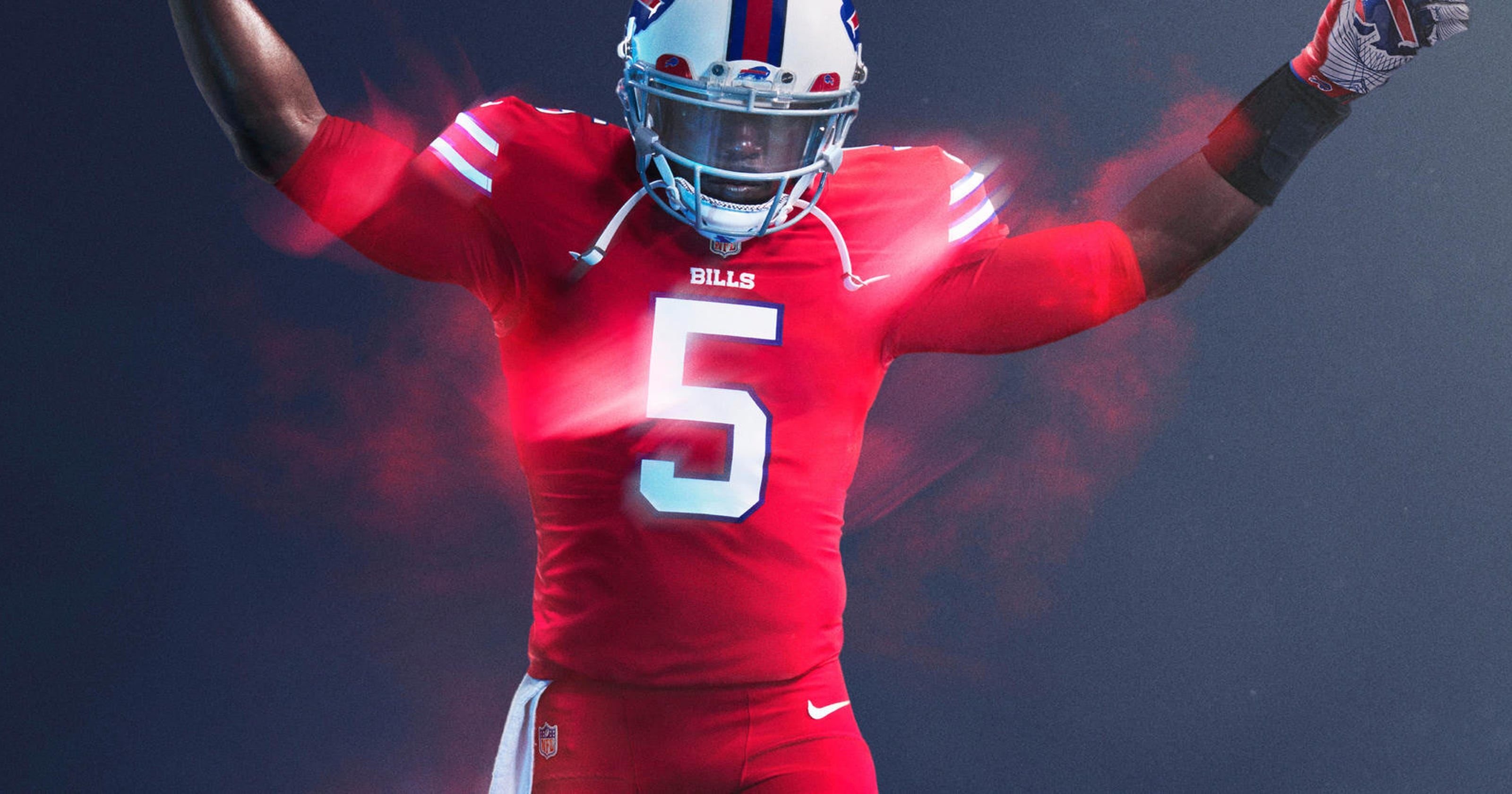 bfd0530b4d1 NFL takes Color Rush uniforms to next level