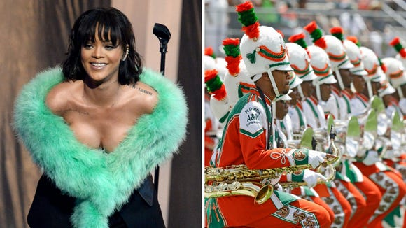 Rihanna would approve of this marching band cover.