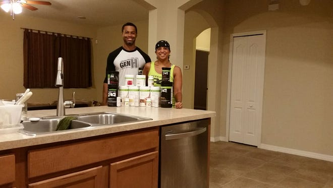 Sean and Dawn Bradford, Palm Bay, sell Herbalife products