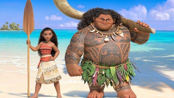 """Wowee, it's Maui, and """"Moana."""""""