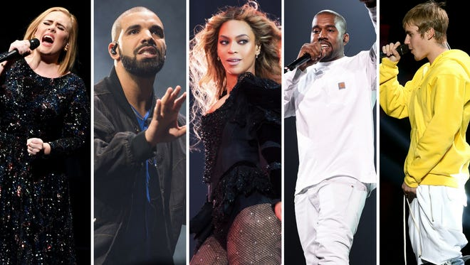 These artists will face off for the 2017 Grammys' top prizes.