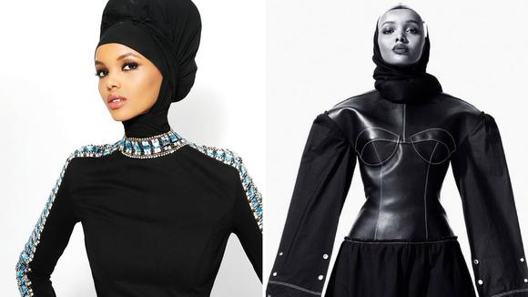 Halima Aden serving looks.
