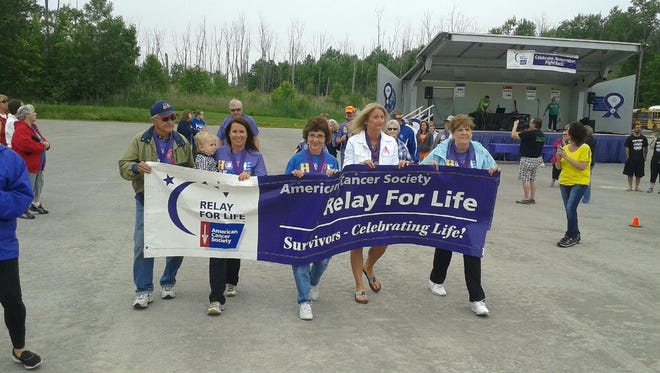 The East China Relay For Life raised $39,000 in 2015. This year's event will be June 10 at Palmer Park in St. Clair..