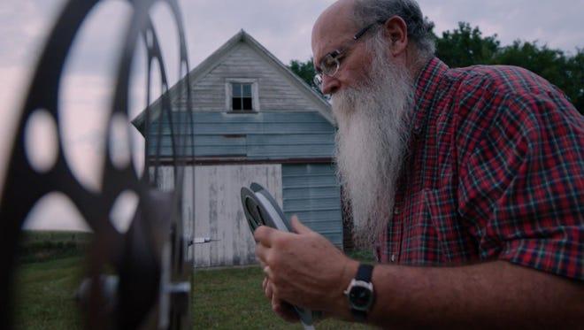 "Michael Zahs of Washington, Iowa is shown in a still from the ""Saving Brinton"" documentary."