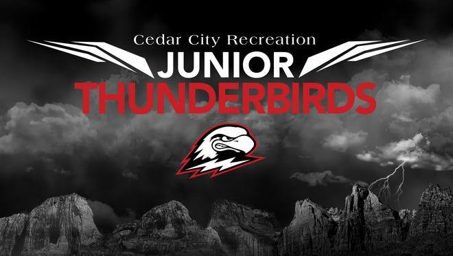 Cedar City Junior Thunderbirds logo