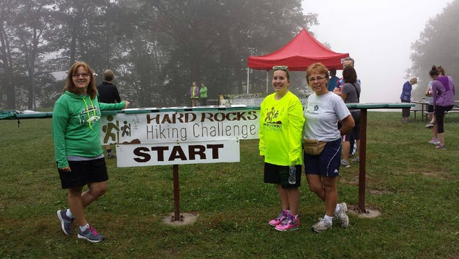 The Hard Rocks Hiking Challenge, hosted by Active Portage County, will be held Sept. 30, 2017 at Standing Rocks County Park in Stevens Point.