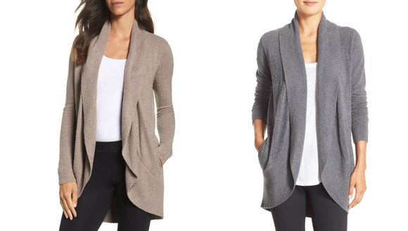 Best gifts for women 2018: Barefoot Dreams Cardigan