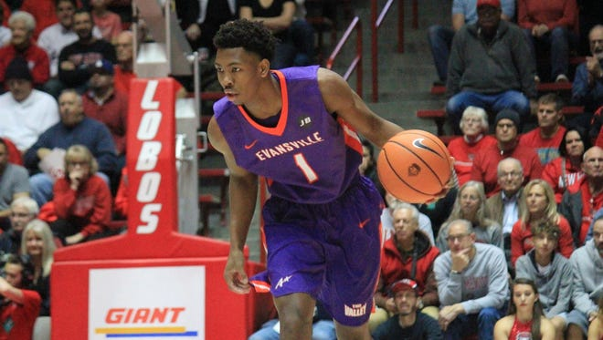 UE junior Marty Hill scored four points and grabbed seven rebounds in his season debut Wednesday at New Mexico.