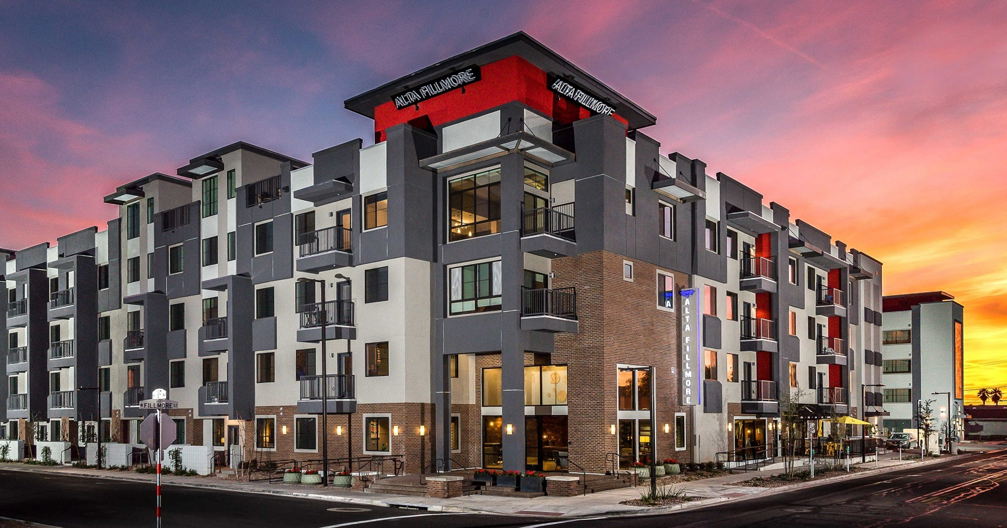 roosevelt row apartment complex in phoenix sells for record price - Fillmore Garden Apartments