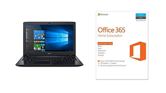 Acer PC & Microsoft Office 365