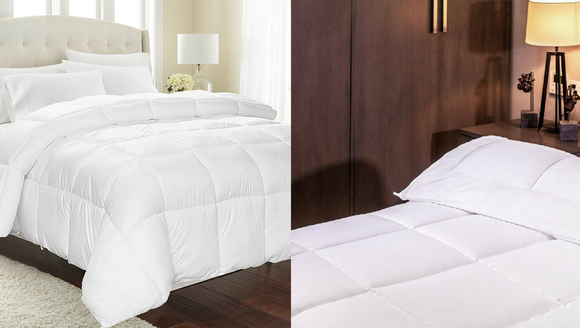 Swap out your dirty, old comforter with this one.