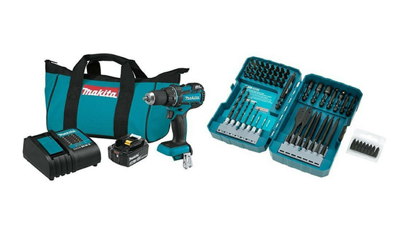 A drill kit for all your home projects.