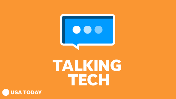 The logo for the Talking Tech with Jefferson Graham