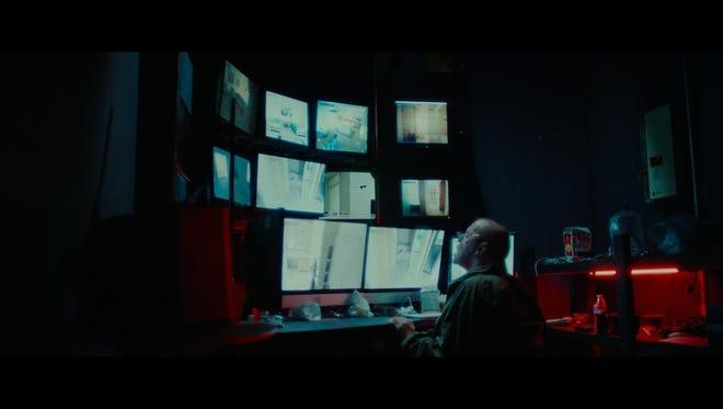 """Neville Archambault in """"14 Cameras."""""""