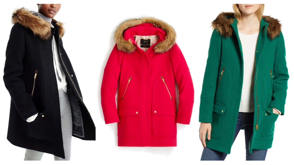 Best Gifts For Her 2018 J Crew Parka