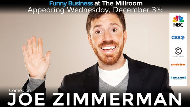 Joe Zimmerman's poster for The Millroom in downtown.