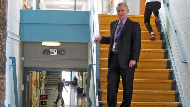 Blind Brook-Rye schools Superintendent William Stark abruptly resigned from his position Monday, about 28 months shy of completing his contract.