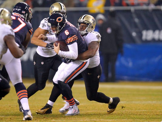 USP NFL: NEW ORLEANS SAINTS AT CHICAGO BEARS S FBN USA IL