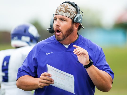 Brian Wright is the new football coach at Timber Creek.