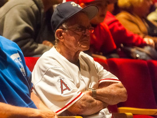 Bill Densten, who coached Mike Trout in Millville American