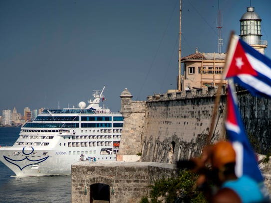 Carnival's Fathom cruise line ship Adonia arrives in
