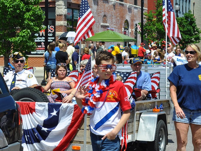 Photos from Stevens Point's 2014 Fourth of July Parade in downtown Stevens Point.