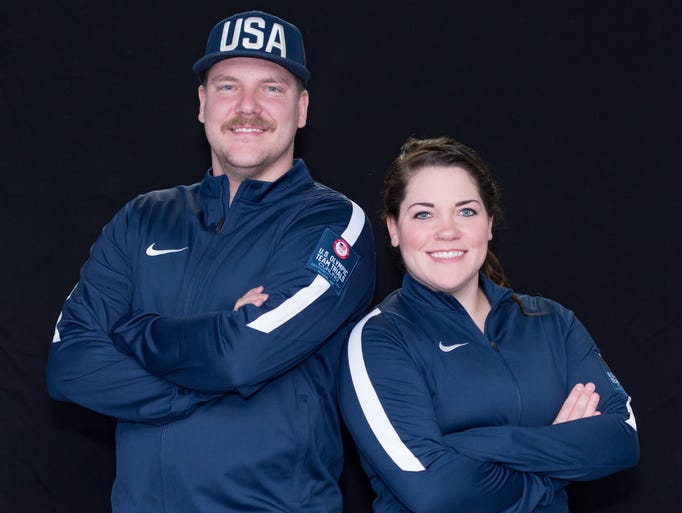 Siblings Matt Hamilton and Becca Hamilton have qualified