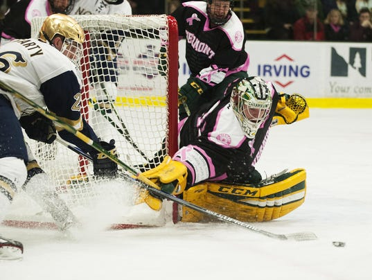 Notre Dame vs. Vermont Men's Hockey 02/05/16