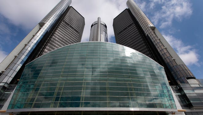 General Motors headquarters in downtown Detroit. GM got dozens of lawsuits consolidated in the Southern District of New York court. Owners are suing, claiming the GM recalls for faulty ignition switches have diminished the value of their cars.