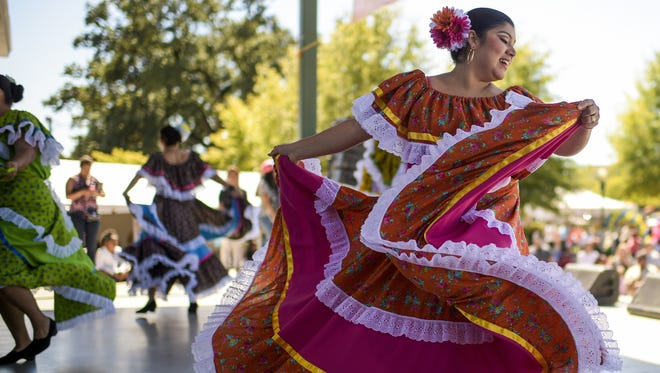 There'll be plenty of dancing to Latin music at the Latin Music Festival Oct. 21 at Moncus Park in Lafayette.