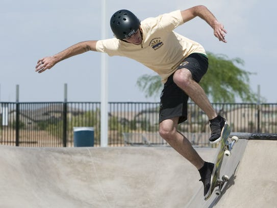 Skating demonstrations, best-trick contest, raffles, vendors and more will be at Skatefest at Goodyear Skate Park.