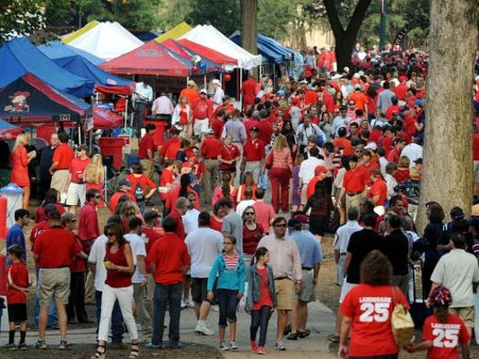 2f26ded0da4 The 10 best tailgates in college football