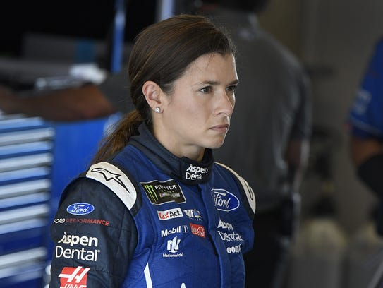 Monster Energy NASCAR Cup Series driver Danica Patrick