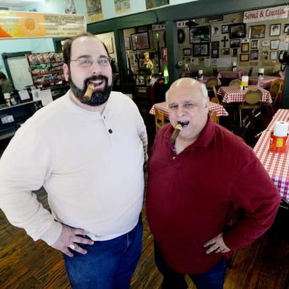 Patrick Fertitta and his uncle, local property manager and restaurateur Mickey Fertitta, plan to import and sell their own labelled Fertitta cigars.