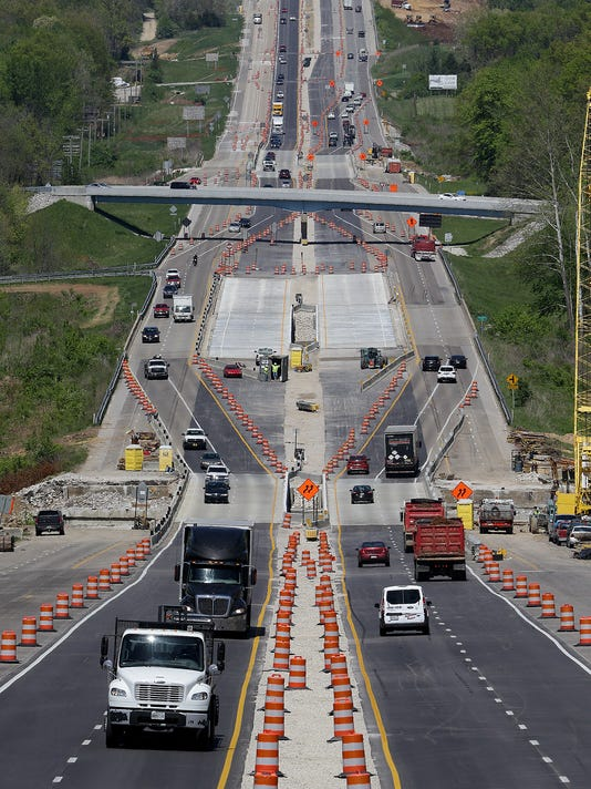 I69 Indiana Map.Mike Pence S Infrastructure Mess What Went Wrong With I 69