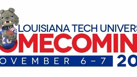 La. Tech Homecoming events are Nov. 6-7.