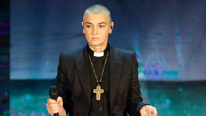 Sinead O'Connor in October 2014 in Milan, Italy.