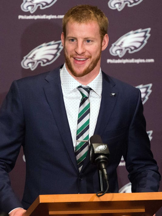 USP NFL: PHILADELPHIA EAGLES-CARSON WENTZ PRESS CO S FBN USA PA